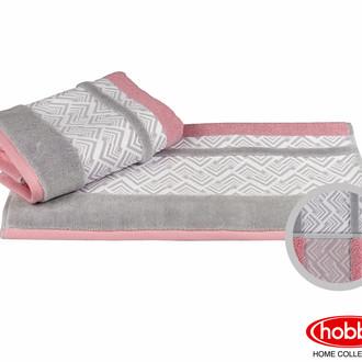 Полотенце для ванной Hobby Home Collection NAZENDE хлопковая махра (розовый)