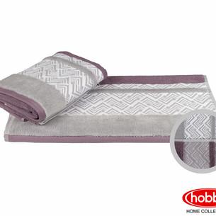 Полотенце для ванной Hobby Home Collection NAZENDE хлопковая махра светло-бордовый 70х140