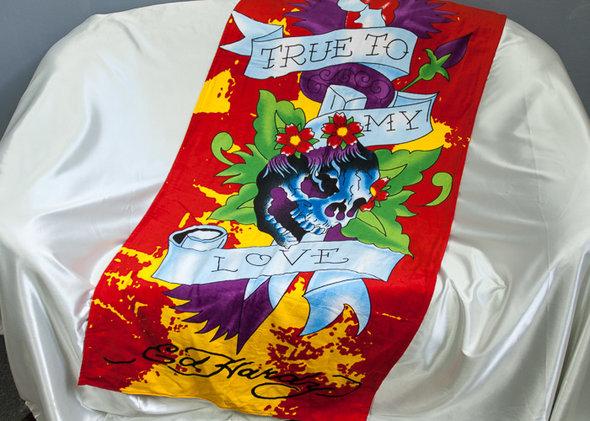 Полотенце пляжное Tango 8209-35 хлопковая махра, фото, фотография