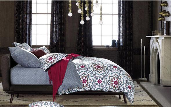 Комплект постельного белья Tango TS-96 хлопковый сатин 2-х спальный (нав. 70*70 см), фото, фотография