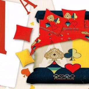 Постельное белье Tango TS-874 хлопковый сатин 2-х спальный нав. 50х70 см