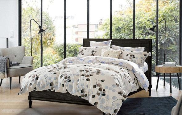 Комплект постельного белья Tango TS-91 хлопковый сатин 2-х спальный (нав. 50*70 см), фото, фотография