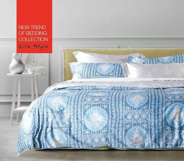 Комплект постельного белья Tango TS-692 хлопковый сатин 2-х спальный (нав. 50*70 см), фото, фотография