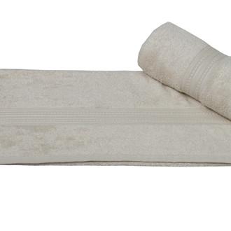 Полотенце для ванной Hobby Home Collection LAVINYA махра бамбук+хлопок (светло-бежевый)
