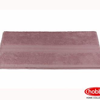 Полотенце для ванной Hobby Home Collection LAVINYA махра бамбук+хлопок (тёмная пудра)