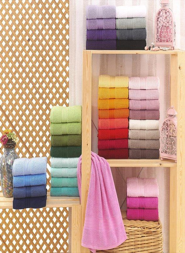 Полотенце для ванной Hobby Home Collection RAINBOW хлопковая махра светло-лиловый 50*90, фото, фотография