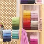 Полотенце для ванной Hobby Home Collection RAINBOW хлопковая махра лиловый 70х140, фото, фотография