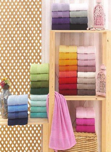 Полотенце для ванной Hobby Home Collection RAINBOW хлопковая махра бежевый 70х140, фото, фотография