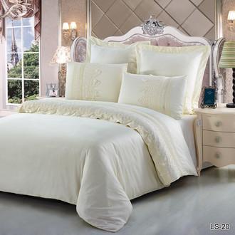 Комплект постельного белья Kingsilk LS-20-K хлопковый сатин deluxe