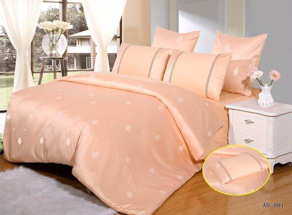 Комплект постельного белья Kingsilk ARLET AD-001 сатин-жаккард семейный, фото, фотография