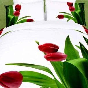 Постельное белье Tango TS-FS793 хлопковый сатин 2-х спальный нав. 70х70 см