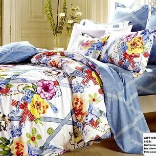 Постельное белье Tango TS-949/2 хлопковый сатин 2-х спальный нав. 50х70 см