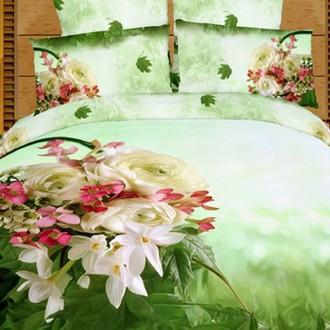 Комплект постельного белья Tango TS-209 хлопковый сатин