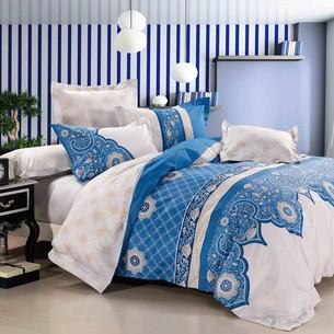 Постельное белье Tango TS-655 хлопковый сатин 2-х спальный нав. 50х70 см