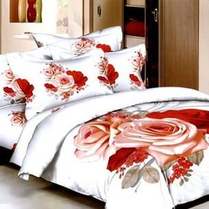 Постельное белье Tango TS-062 хлопковый сатин 2-х спальный нав. 50х70 см