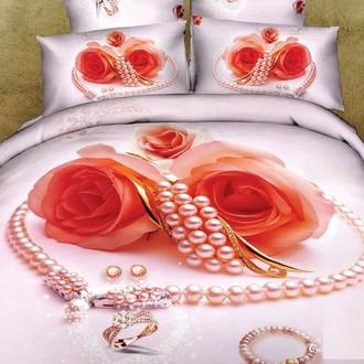 Комплект постельного белья Tango TS-747 хлопковый сатин