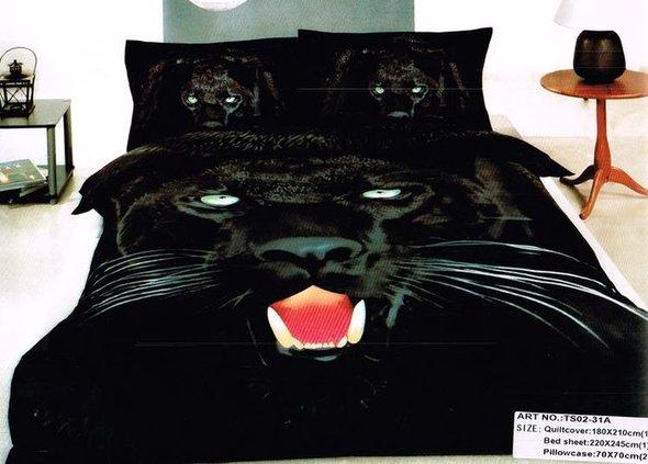 Комплект постельного белья Tango TS-31A хлопковый сатин семейный, фото, фотография