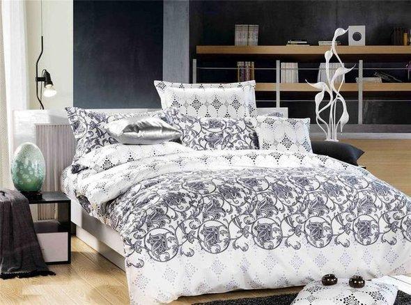 Комплект постельного белья Tango TS-776 хлопковый сатин семейный, фото, фотография