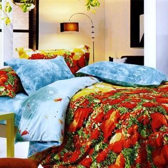 Комплект постельного белья Tango TS-017/2 хлопковый сатин