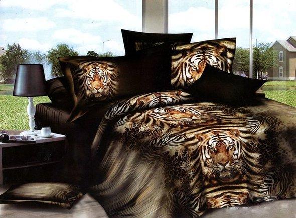 Комплект постельного белья Tango TS-011 хлопковый сатин семейный, фото, фотография