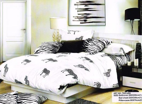 Комплект постельного белья Tango TS-65A хлопковый сатин семейный, фото, фотография