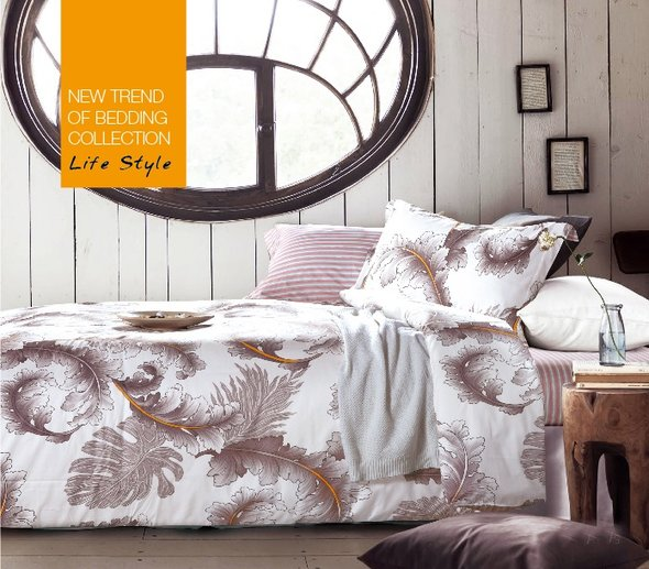 Комплект постельного белья Tango TS-681 хлопковый сатин евро (2 нав.), фото, фотография