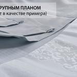 Скатерть прямоугольная Karna CARAMEL жаккард бежевый 160х220, фото, фотография