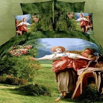 Комплект постельного белья Tango TS-123 хлопковый сатин