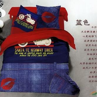 Комплект постельного белья Tango TS-951 хлопковый сатин