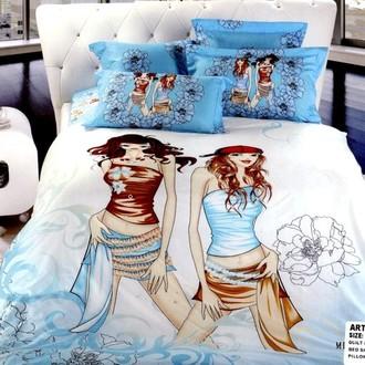 Комплект постельного белья Tango TS-030 хлопковый сатин