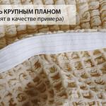 Набор чехлов без юбки на трёхместный диван и кресла 2 шт. Karna зелёный, фото, фотография