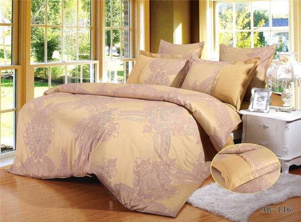 Комплект постельного белья Kingsilk ARLET AB-146 сатин-жаккард семейный, фото, фотография