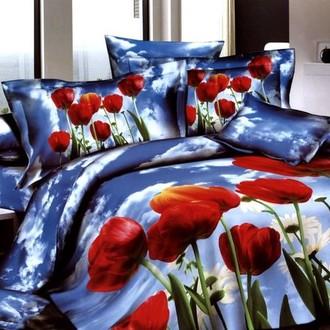 Комплект постельного белья Tango TS-186 хлопковый сатин