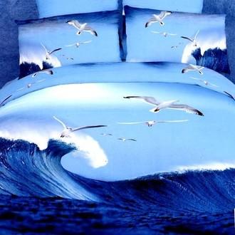 Комплект постельного белья Tango TS-028 хлопковый сатин