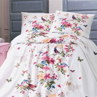 Комплект постельного белья без пододеяльника Evim 02 хлопковый ранфорс