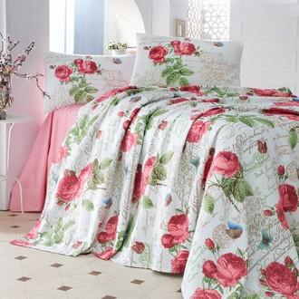 Комплект постельного белья без пододеяльника Evim 04 хлопковый ранфорс