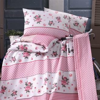 Комплект постельного белья без пододеяльника Evim 13 хлопковый ранфорс