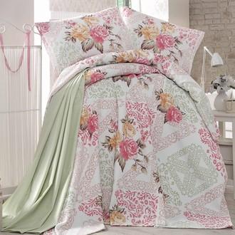 Комплект постельного белья без пододеяльника Evim 21 хлопковый ранфорс