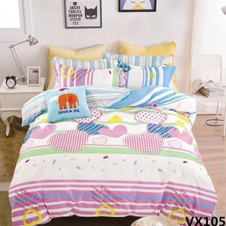 Комплект постельного белья Kingsilk SEDA VX-105 хлопковый сатин