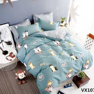 Комплект постельного белья Kingsilk SEDA VX-107 хлопковый сатин