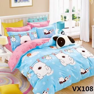 Комплект постельного белья Kingsilk SEDA VX-108 хлопковый сатин