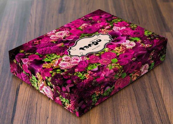 Постельное белье Tango TS-022 хлопковый сатин евро  4 нав., фото, фотография