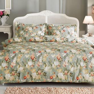 Комплект постельного белья Tivolyo Home DELUX ANGELICA хлопковый люкс-сатин