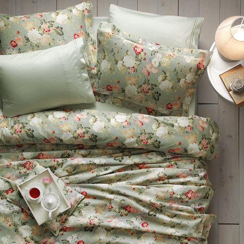 Постельное белье Tivolyo Home ANGELICA хлопковый люкс-сатин евро, фото, фотография