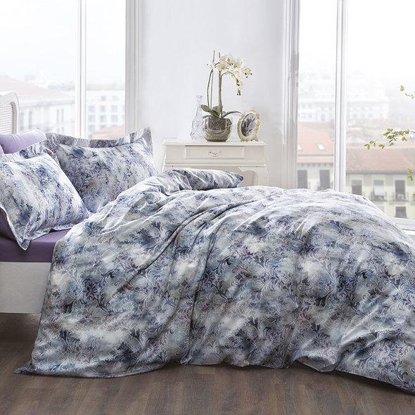 Комплект постельного белья Tivolyo Home VELA хлопковый люкс-сатин семейный, фото, фотография