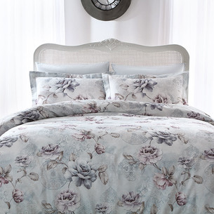 Постельное белье Tivolyo Home GINEVRA хлопковый люкс-сатин 1,5 спальный