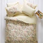 Постельное белье Tivolyo Home LOTUS хлопковый люкс-сатин евро, фото, фотография