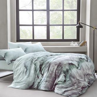 Комплект постельного белья Tivolyo Home DELUX FOREST хлопковый люкс-сатин