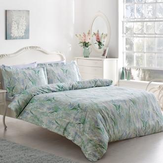 Комплект постельного белья Tivolyo Home FLEUR хлопковый люкс-сатин