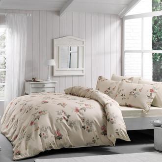 Комплект постельного белья Tivolyo Home PEONY хлопковый люкс-сатин